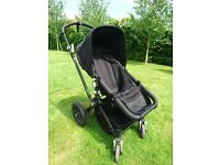 Bugaboo Cameleon buggy, Maxi Cosi car seat 0+ and Isofix