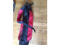 Golf clubs & bag ( junior set )