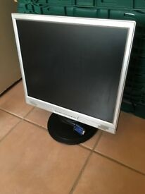"""AOC WJ1780PI 17"""" Widescreen LCD Monitor with built-in Speakers"""