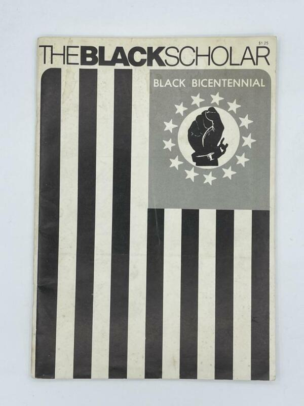 The Black Scholar Journal of Black Studies and Research 1976