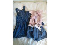 4-5 year girls beautiful dresses 12 in total