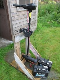 Jago electric 86lb thrust outboard