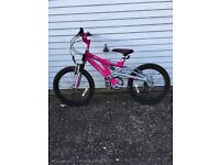 "Girls Raleigh kids bike 20""wheels"