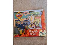 Fireman sam magnet book