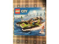 Lego 60114 set NEW power boat and mini figure toy collectible toys Will Post