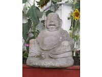 Large Stone Buddha - Indoor/Outdoor - Lovely Detail.