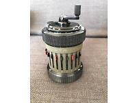 Curta type 2 calculator, made in 1960 in Excellent condition