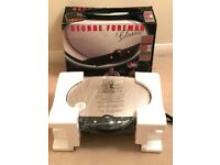 George Foreman Classic Grilling Machine, with Digital Countdown Timer – New - in original packaging