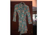 Disney Frozen fluffy dressing gown (age 10/12)