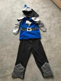 Boys Knight Dress up Costume age 3-4