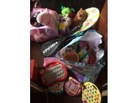 large mixed job lot of childrens items