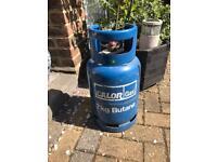 Butane Gas Bottle 90% Full (7kg)