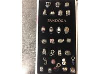 Various Genuine Pandora Charms