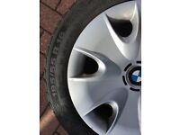 BMW 1 or 3 Series 4 Winter wheels and tyres