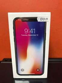 Brand New iPhone X 64gb Space Gray