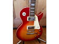 1997 Gibson Epiphone Korean Les Paul Standard Guitar - Cherry Sunburst