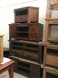 Huge tv unit sale from £150