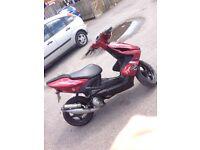 Yamaha aerox, 12 months mot