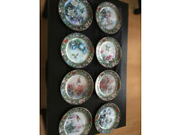 Collectors Plates - Lena Liu's Flower Fairies and also Lena Liu's Hummingbird Treasury Collection