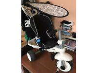 Baby smart trike push chair straller buggy