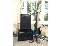 Genz Benz Bass Rig - Contour 500 210 Combo With 2x10 Extension Cab - 500W Beast Of A Rig!!
