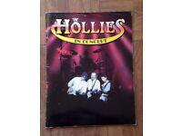 The Hollies. 1991 tour concert souvenir booklet