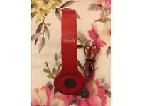 BEATS By DR DRE SOLO HD SPECIAL EDITION Red HEADPHONES