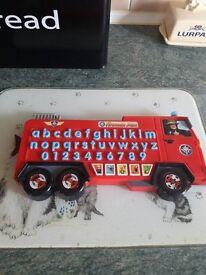 Fireman Sam Alphabet Fire Engine
