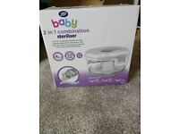 Boots cold water or microwave steriliser
