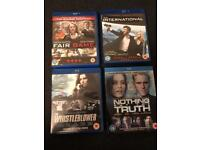 4 Conspiracy Thrillers on Blu-Ray