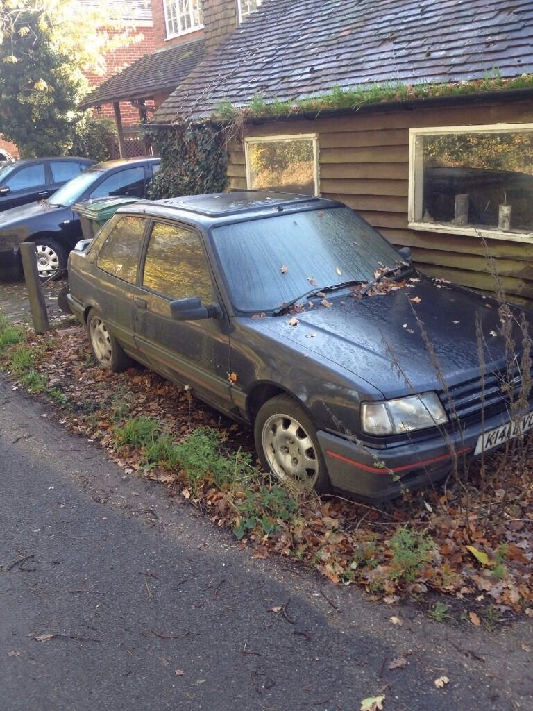 peugeot 309 gti automatic very rare in reading. Black Bedroom Furniture Sets. Home Design Ideas