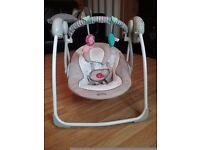Baby rocker swing musical chair.