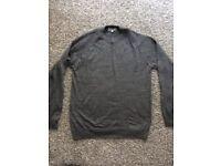 NEXT new grey mens jumper size medium ! Bargain !