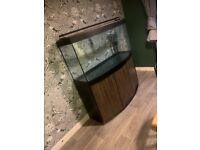 260L Fluval Vicenza Fish Tank with stand.