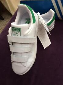 Addidas Stan Smith White Trainers Size 3