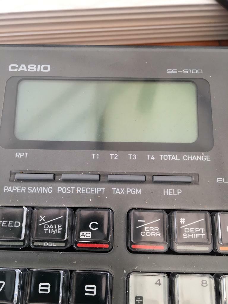 Casio Cash Register till | in Crossgates, West Yorkshire | Gumtree