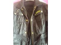 Woman's real Barbour jacket