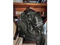 Ladies Leather Bike Jacket