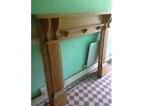 Solid Pine Fireplace surround - Great condition
