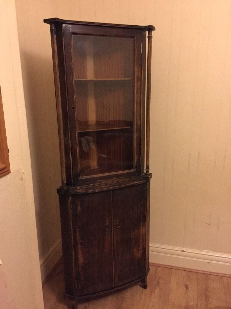 Vintage Corner Cabinet Vintage Corner Cabinet In Gabalfa Cardiff Gumtree