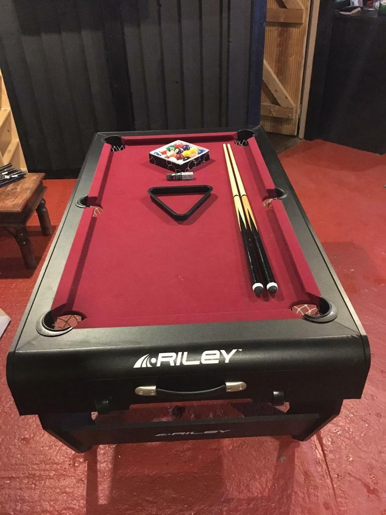 - 5ft Foldable Riley Pool Table In Chippenham, Wiltshire Gumtree