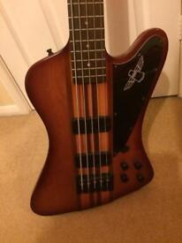 5 string bass epiphone thunderbird
