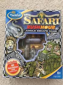 NEW and Sealed Thinkfun Safari Jungle Escape Game