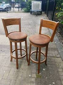 Stools (breakfast bar high chairs)