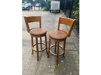 Stools (breakfast bar high chairs)