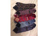 Men's Tie's 11 Designer Tie's - 2 Bow Tie's