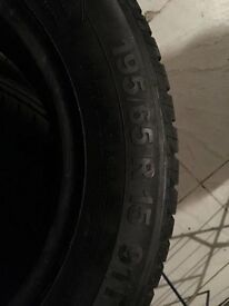 VW GOLF MK6 FRONT TYRES 195/65/ R 15