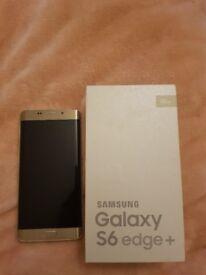 Samsung Galaxy edge 6 plus gold