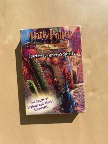Harry Potter - Sammelkartenset - Starterset - 2 Spieler - Deutsch - Neuwertig!