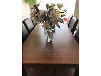 Heals Walnut Dining Room Table
